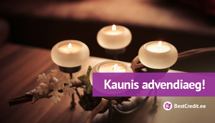Kaunis advendiaeg!
