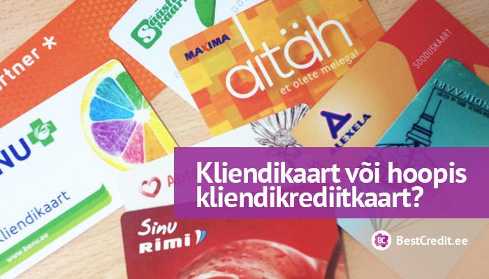 Kliendikrediitkaart