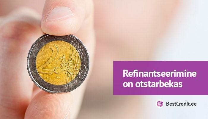 laenu refinantseerimine